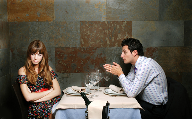 Unngå dette på første date